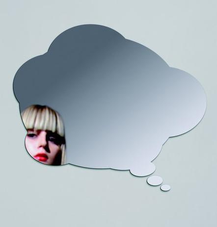 آینه فانتزی طرح ابر