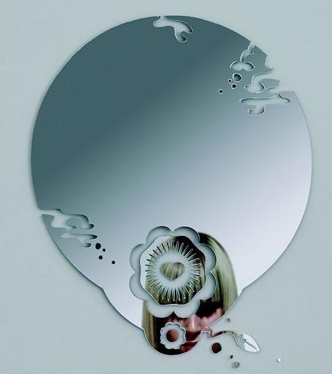 آینه فانتزی مدل سرمه