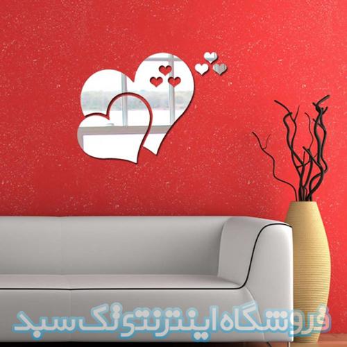 خرید آینه فانتزی قلب تو در تو